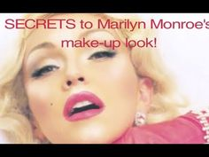 Marilyn Monroe makeup video tutorial by Kandee Johnson. She is ridiculously goofy and armed with a ton of great tips to achieve Marilyn's signature look.