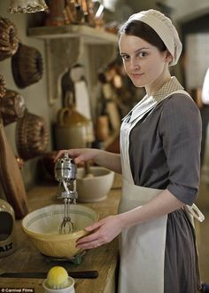 Downton Abbey Season 4: Daisy Mason (Sphie McShera) is still doing her thing in the kitchen but may move on to pastures new