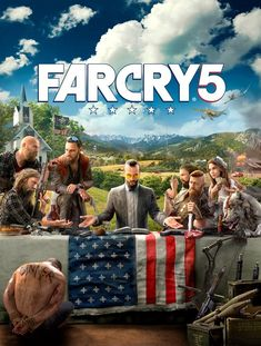 Far Cry 5 Key Art Revealed; Confirms Will Be Set In Modern Day; May Follow Religious Theme