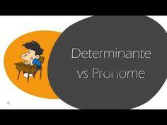 (3) Determinantes e Pronomes - YouTube Youtube, Videos, Youtubers, Youtube Movies