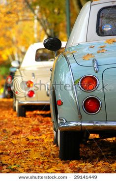 I am not a car person at all, but I would move to the UK in a heartbeat just to be able to own a Nissan Figaro....