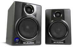 M-Audio Studiophile AV40 Powered Monitor Speakers (Latest Version) by Avid, http://www.amazon.com/dp/B0051WAM64/ref=cm_sw_r_pi_dp_0y-6qb04JXNM4