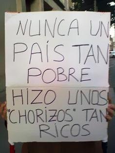 Visto en la manifestación del 29/03/12, cortesía de Archipiélago Machango.