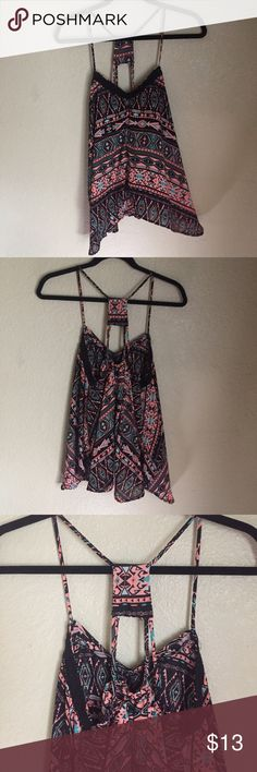 Aztec top Aztec flowy top from rue21 size 1x never worn only tried on. Rue 21 Tops Tank Tops
