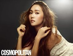 Girls' Generation's Jessica Jung Cosmopolitan Korea Magazine October 2011