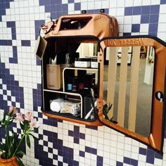 Jerrycan minibar