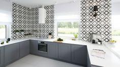 Projekt: arch. Maria Biegańska, arch. Ewelina Pik. Fot. Bartosz Jarosz Kitchen Furniture, Kitchen Decor, Kitchen Design, Furniture Design, Kitchen Styling, Classic Style, Kitchen Cabinets, Home Decor, Arch