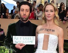 And more joined the list at the Screen Actors Guild Awards on Sunday. | Jennifer Lawrence Has Responded To President Trump's Refugee Ban