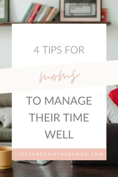 A lot of times it feels like the time just gets away from us. As moms, we have so much on our plates every day. Too often, it feels like there's simply not enough time in the day to get it all done. The secret to having a productive day is not working harder, it's working SMARTER. In this post, I'm going to go over how moms can manage their time well! #intentional #simplify #timemanagement Simplified Planner, Overwhelmed Mom, Give It To Me, How To Get, Productive Day, Time Management Tips, Life Advice, Simple Living, Enough Is Enough