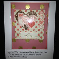 Leadership display boards sample To order Stampin'Up! products, please visit my blog at www.stampinjo.stampinup.net