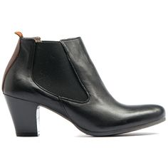 LANNI | Midas  #classic #chelsea #boots #heels #madeinitaly #leather #midas #midasshoes #black
