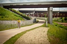 Rogers has so many great trails for biking, running & walking!