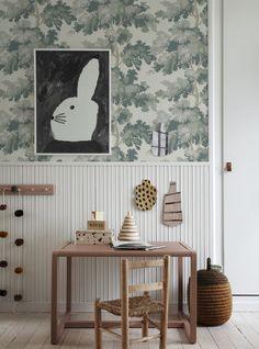 Interior Wallpaper, Room Interior, Interior Design, Flower Wallpaper, Of Wallpaper, Home Gadgets, Nursery Inspiration, Kid Spaces, Kidsroom