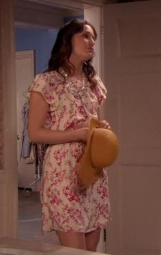 Blair is the most beautiful in the world. Balenciaga dress.