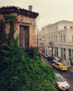 Rainy Athens May 2018