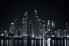 Black City II by Mohamed Raouf