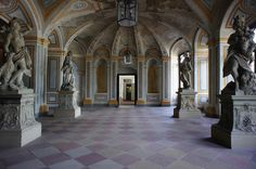 Bruchsal Palace interior