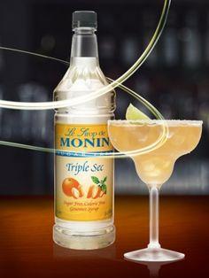 MONIN Sugar Free Triple Sec syrup