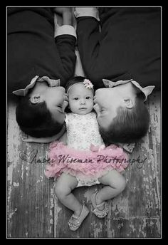 3 month photo session. Siblings picture