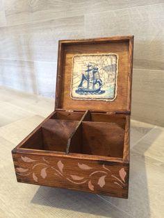 Decoupage Box, Tea Box