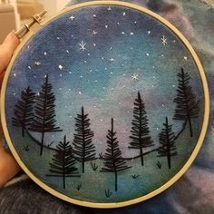 Embroidery Hoop Crafts, Halloween Embroidery, Hand Embroidery Stitches, Hand Embroidery Designs, Embroidery Art, Cross Stitch Embroidery, Machine Embroidery, Diy Broderie, Boro
