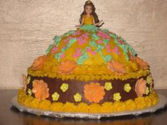 Large princess cake