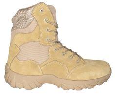 ZEMAN ALFA DESERT 8.0 profesionální vojenská a policejní obuv - ZEMAN® Boots for Pross