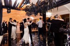 Elize & Stefan Real Wedding Showcase - The Aleit Group Black and gold wedding. Bride and groom dancing. Gold Wedding, Wedding Black, Event Management Company, Black Decor, Event Planning, South Africa, Real Weddings, Wedding Photos, Groom