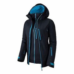 Atomic #cliffline stormfold #women's ski jacket small in black  bnwt rrp #£610,  View more on the LINK: http://www.zeppy.io/product/gb/2/262796118700/