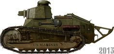 The famous Renault FT
