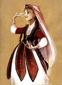 Armenian dancer