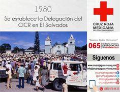 Rorazau, El Salvador, 1980. Un convoy de la Cruz Roja Salvadoreña prepara una distribución de socorros para personas desplazadas a raíz de la guerra entre el Gobierno y el Frente Farabundo Martí de Liberación Nacional.  #CruzRojaGuasave