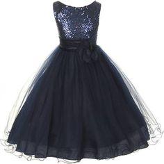 blue flower girl dresses - Google Search