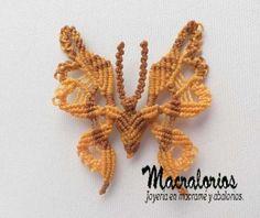 Broche mariposa - artesanum com