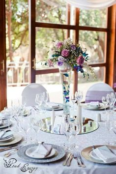 Floral Design & Decor  by www.pinkenergyfloraldesign.co.za Centerpieces, Table Decorations, Floral Design, Decor Ideas, Pink, Wedding, Furniture, Home Decor, Valentines Day Weddings