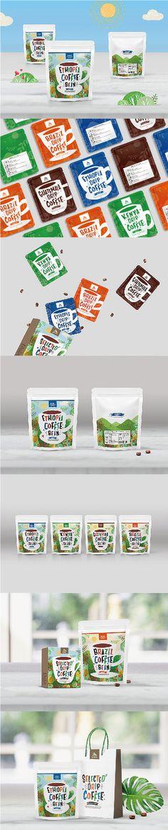 專案名稱:世界精品咖啡系列包裝設計 客戶名稱:屏東科技大學 食品科學系   CCBD團隊在包裝設計上以屏東當地特色為設計元素作為發想,融入臺灣南部熱情的陽光與湛藍的藍天、遼闊的草原與牧草卷,加上花及咖啡樹等元素點綴,並以插畫的方式呈現出台灣與咖啡的融合意象。  整體包裝分別有耳掛式咖啡盒、內袋包裝以及咖啡豆袋,每種不同咖啡豆分別以不同顏色及不同咖啡容器樣式來區分。鮮豔的色彩計畫也讓更多人了解世界咖啡在熱帶地區所創造的魅力🤗。  #品牌形象設計 #品牌整合設計 #咖啡包裝設計 #包裝設計 #平面設計 #文案撰寫 #世界咖啡 #我屏東我驕傲 #屏東科技大學  design-cc.com Showcase Design, Food, Safe Room, Meals