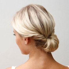 Beautiful and simple, this chignon by Ulrika Elder at Yet Another Beauty Site is perfect for a girl who wants an update on a classic look.