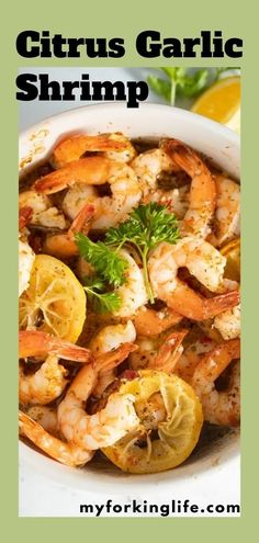 This shrimp is tangy, garlicky, and delicious. It's super easy and quick to make from frozen or fresh shrimp right in the air fryer! It's a great appetizer or can be paired with rice and a veggie for a delicious meal. Instant Pot Pressure Cooker, Pressure Cooker Recipes, Lemon Garlic Shrimp, Great Appetizers, Air Fryer Recipes, Quick Recipes, Frozen, Easy Meals, Veggies
