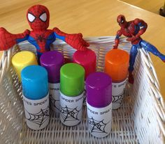 Super hero party - Spider-Man Web spray!