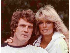 Charlie's Angels: Farrah Fawcett And Husband Lee Majors Corpus Christi, Santa Monica, Lee Majors, Cinema Tv, Kate Jackson, Farrah Fawcett, Actrices Hollywood, After Life, Famous Couples