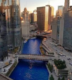 Finally, a sports drink with no additives or caffeine Gorgeous shot of the Cubbie Blue Chicago River by Radim Svoboda