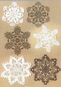 snowflakes crochet 43