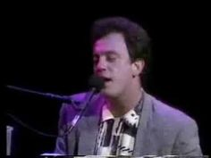 "BILLY JOEL ""THIS NIGHT"" LONDON JUNE 1984 - I am so in love with this man."