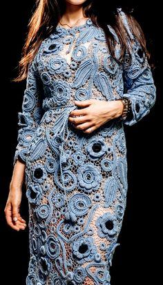 Russian Crochet, Irish Crochet, Freeform Crochet, Crochet Lace, Crochet Wedding, Irish Lace, Crochet Clothes, Wool, Knitting
