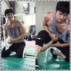 Sexy look Hot Korean Guys, Hot Asian Men, Korean Men, Korean Actors, Yoona Ji Chang Wook, Ji Chang Wook Abs, Drama Korea, Korean Drama, Ji Chang Wook Photoshoot