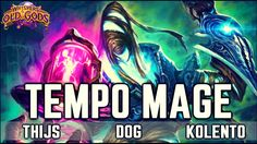 TEMPO MAGE DECK Hearthstone Standard Old Gods