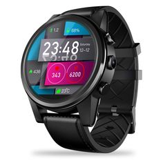 smartwatch lesgos zeblaze thor 4 pro gps smart watch 1 6 inch crystal display gps glonass quad core rom with 5 camera support nano sim compatible with android ios Android 4.4, Android Watch, Iphone Watch, Android Wear, Quad, Bluetooth, Smartphone, Cool Watches, Watches For Men