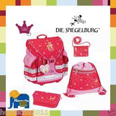 Spiegelburg Schul Ranzen Set Ergo Style Prinzessin Lillifee Reh Rike Rucksack