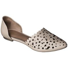 Women's Mossimo® Lainey Perforated Two-Piece Flats - Assorted Colors