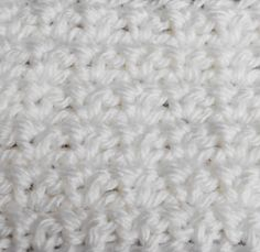 Single Crochet Mesh Stitch -- This Stitch Is Comprised of Alternating Chains and Single Crochet Stitches.